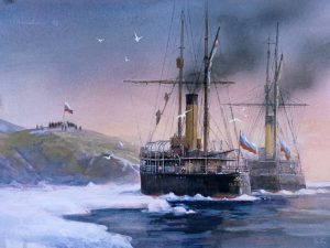 Остров Малый Таймыр — Земля цесаревича Алексея