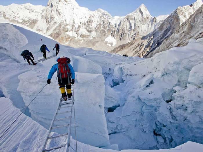 Через ледник