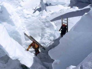 Через ледопад