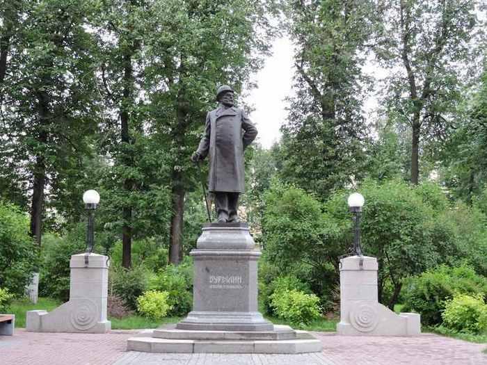 Памятник Д.Г.Бурылину