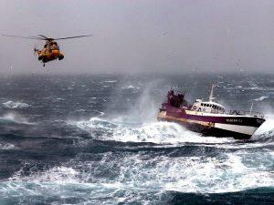 Спасатели в Охотском море