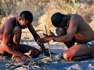 Африканские бушмены