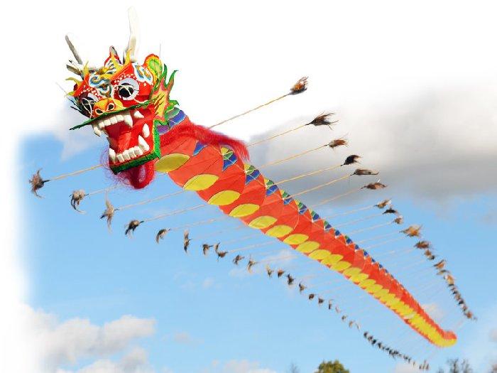Интересные факты про воздушного змея