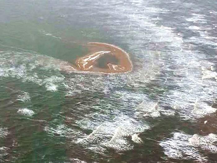 Новый остров в море Лаптевых