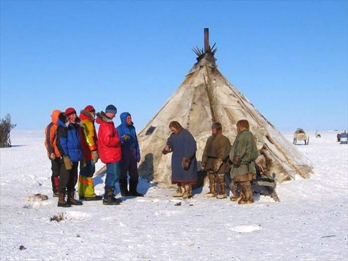 Коренные жители побережья Карского моря