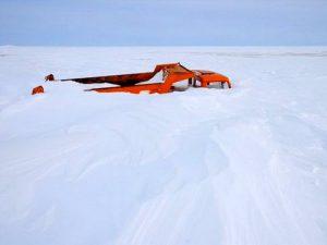 Суровый Таймыр край снегов и морозов