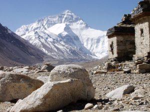 Вид на Эверест из Тибета
