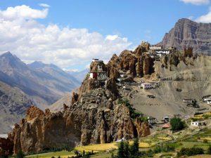 Поселки высоко в Гималаях