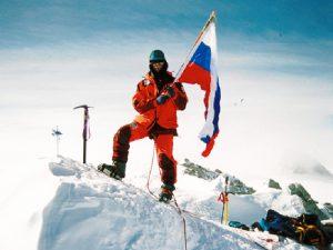 Федор Конюхов на Эвересте