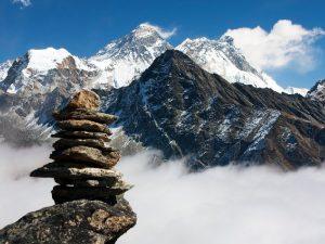 Горный вид на Эверест