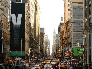 Обычный день в Нью-Йорке