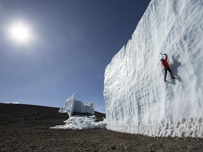 Исчезающий ледник