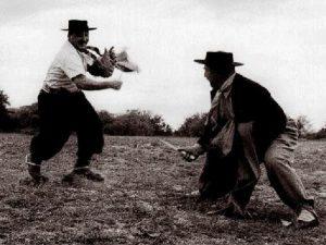 Бой на навахах