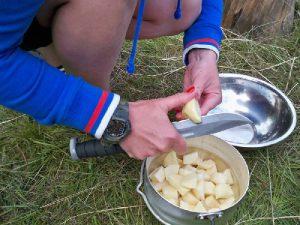 Картофелечистный охотничий