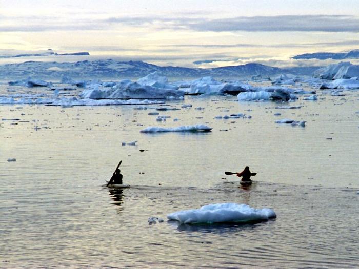 Каякинг в Гренландии