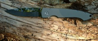Складной нож. Виды складных ножей