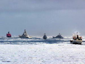 Корабли в море Лаптевых