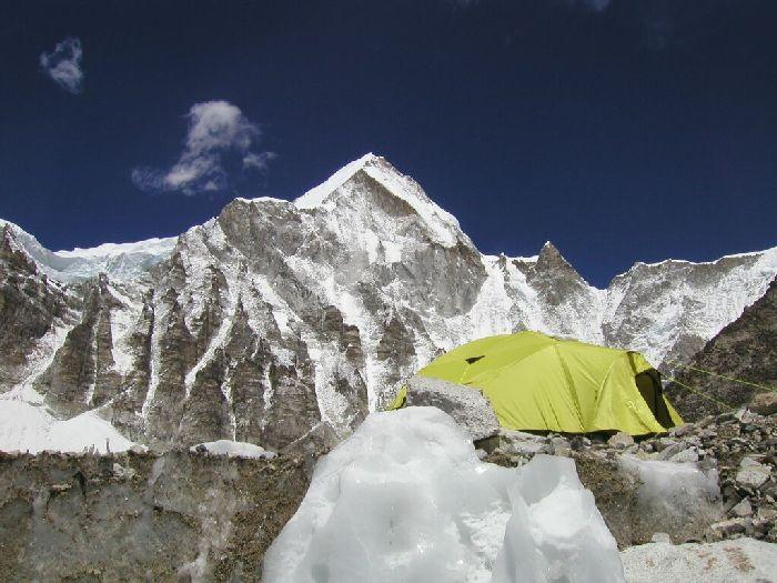 Лагерь на высоте 8500