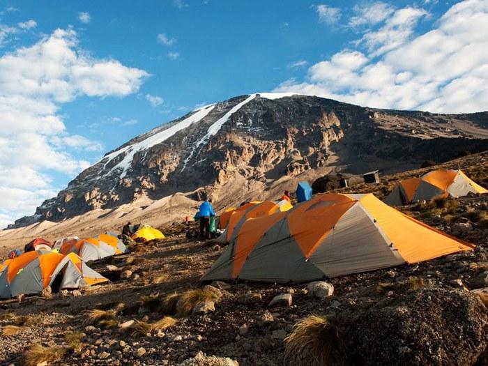 Лагерь восходителей