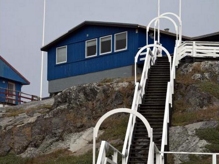 Лестницы в городе Нуук