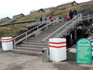 Лестницы от причала