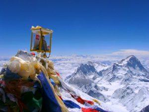 Монах на вершине
