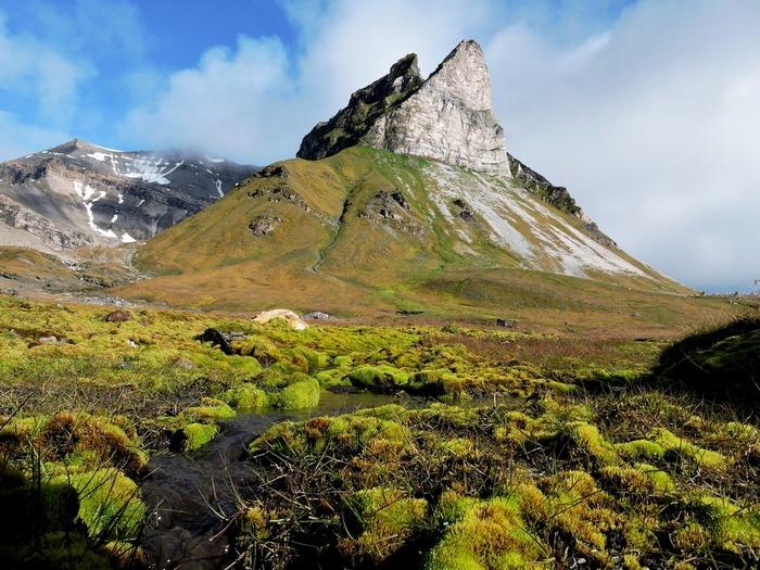 Необычные пики гор