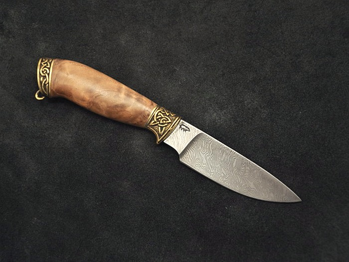Нож Охотничий дамасск