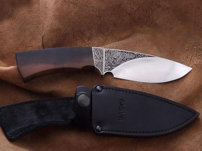 Охотничий нож Баско-4