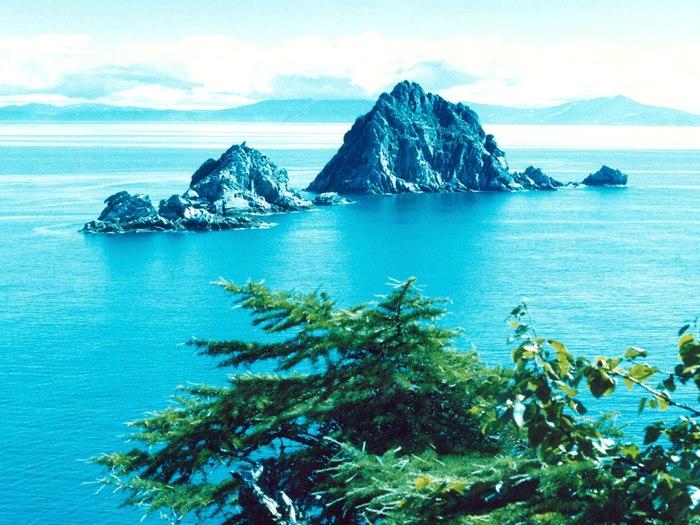Острова Охотского моря