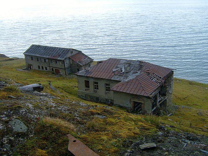 Остатки домов