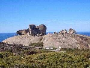 Отшлифованые скалы