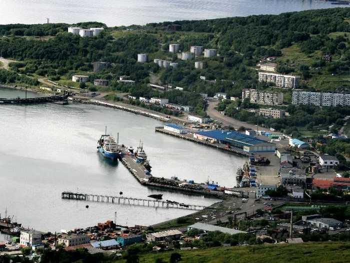 Порт Петропавловск-Камчатский