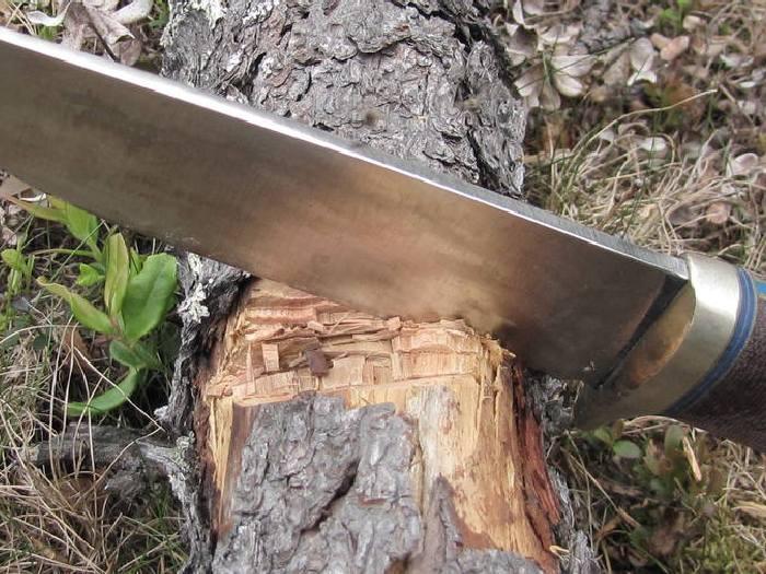 Прочный нож