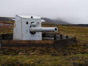 Пушки на Шпицбергене