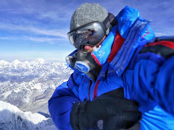 Селфи на пике Эвереста