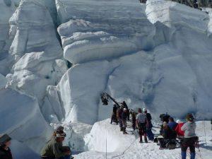 Съемки фильма Эверест