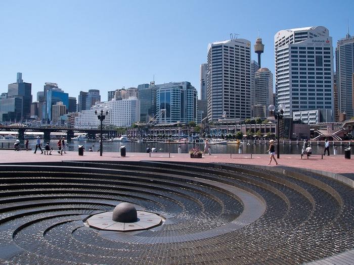 Спиралевидный фонтан