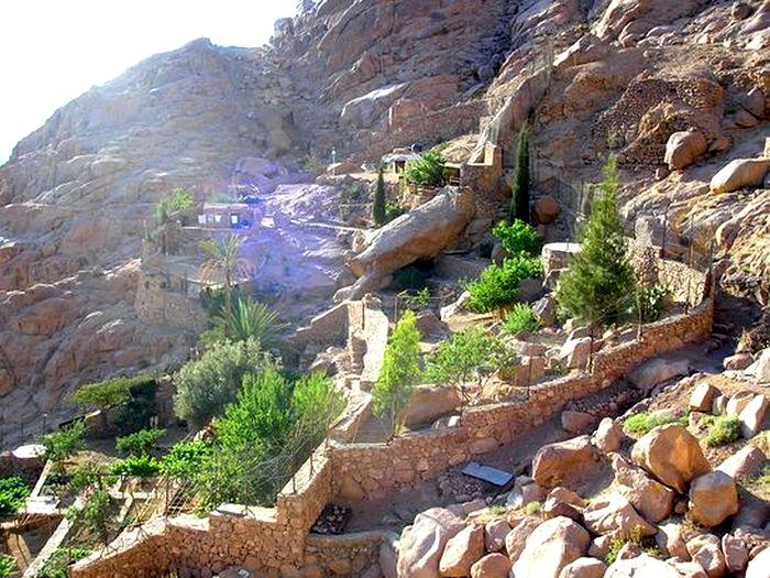 Скит в горах Синая
