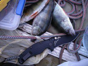 Складной рыбный