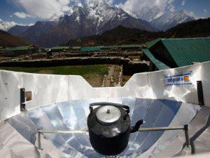 Солнечный чай в Гималаях