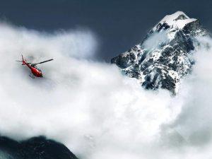 Спасатели на вертолете