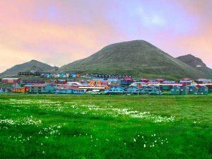 Тундра Свальбарда весной