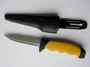 Удобный нож рыбака
