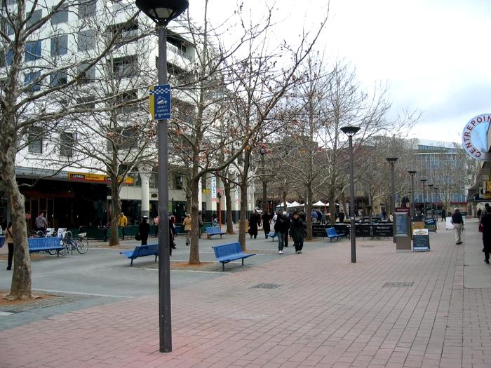Улицы Канберры