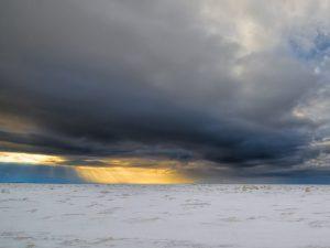 Вечер на Белом море