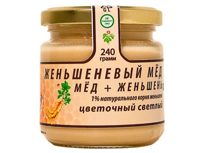 Женьшеневый мед