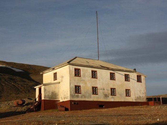 Здание метеостанции