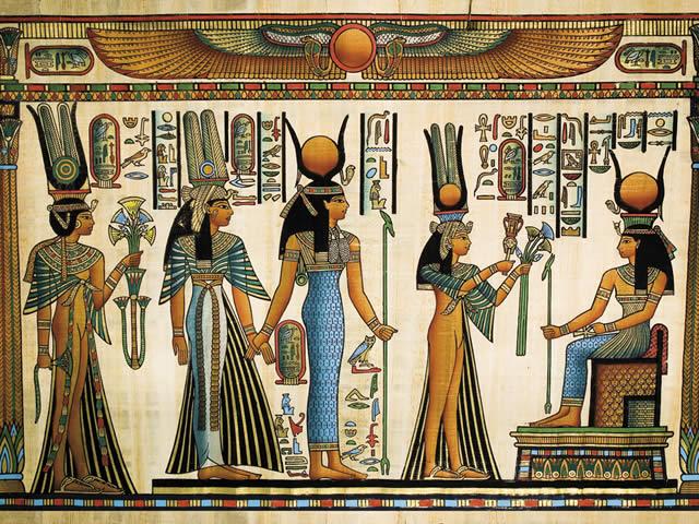 Священный лотос древнего Египта