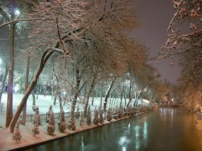 Анхор зимой